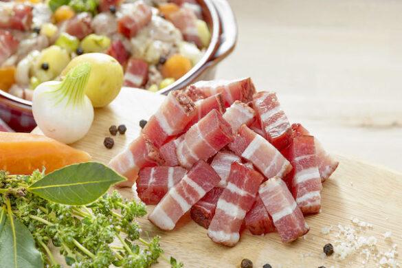 Lardon poitrine de porc label rouge