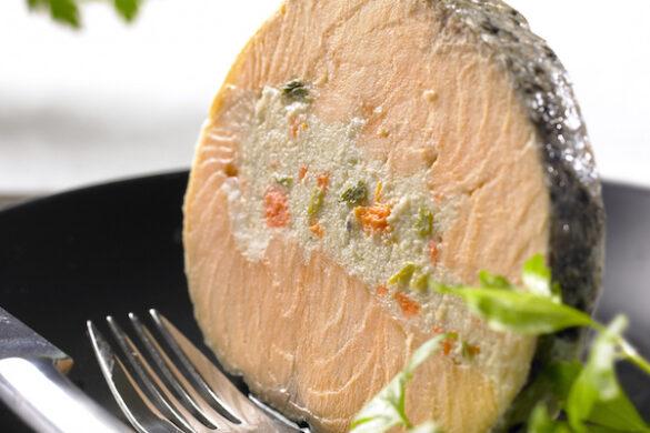 saumon farci label rouge